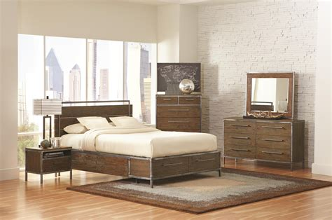 industrial bedroom buy arcadia industrial bedroom set by coaster from www