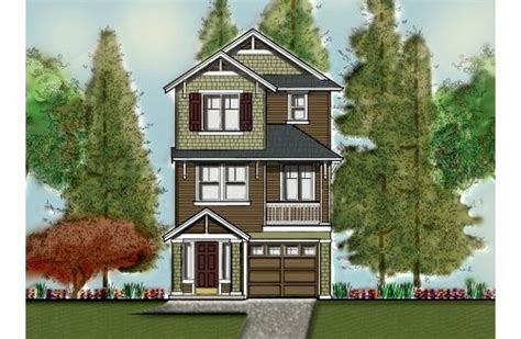 small three story house 3 story narrow lot home floor plans pinterest