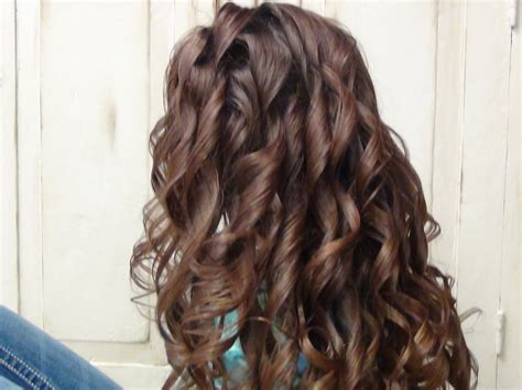 easy hairstyles curling iron easy curls curly long hairstyles youtube