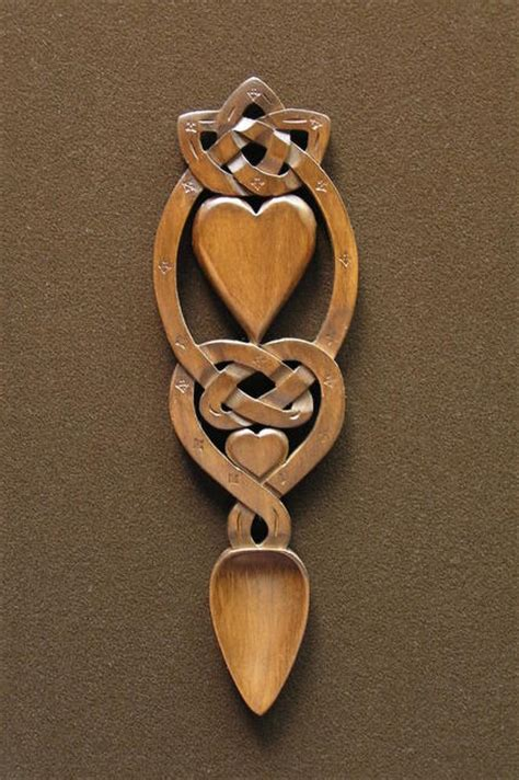 lovespoon 44 [spoon44]   £39.00 : Welsh love spoons The