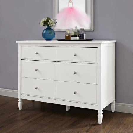 Better Homes And Gardens Dresser by Better Homes And Gardens Lillian 6 Drawer Dresser White