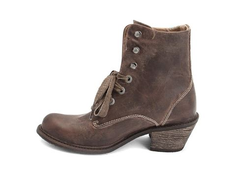 fluevog boots fluevog shoes shop nuni brown lace up winter boot