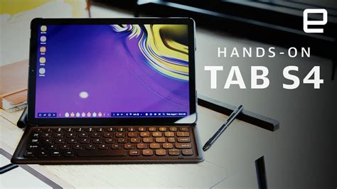 samsung galaxy tab s4 on android tablet for multitaskers