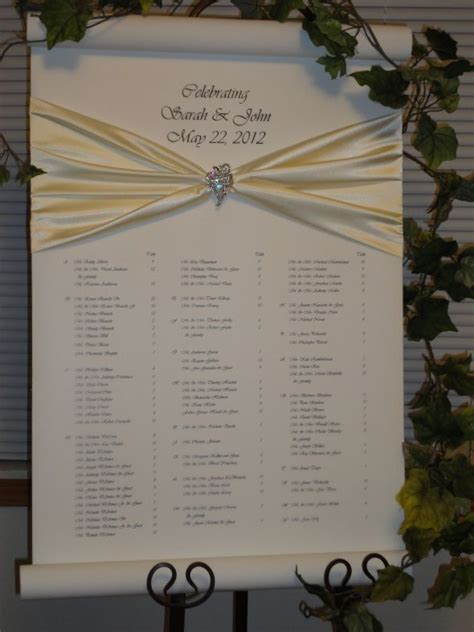seating card ideas for wedding reception jardine seating chart an alternative to place cards weddingbee photo gallery