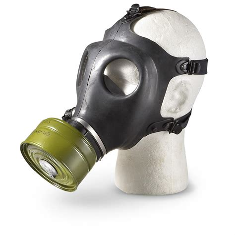 Masker Chemical israeli surplus gas mask new 61400 gas