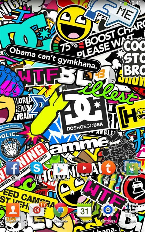 jdm sticker wallpaper sticker bomb wallpaper hd wallpapersafari