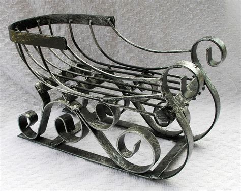 Decorative Sleigh by Decorative Metal Sleigh Sled Sleighs