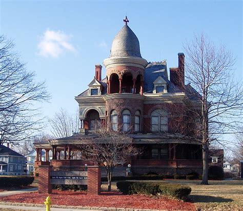 castle rubber st seiberling mansion