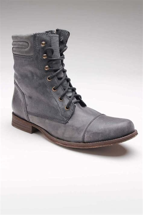 gbx shoes gbx shoes cap toe washed leather boot s apparel and