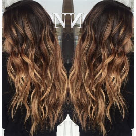 light caramel brown hair color carmel balayage pinteres