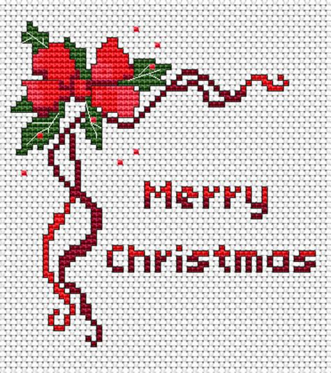 pattern christmas card free cross stitch patterns christmas and new year free