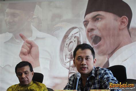 artis film soekarno hanung bramantyo yakin hukum akan lindungi film soekarno