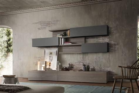 mobili a muro parete attrezzata a pensili orizzontali 300 napol