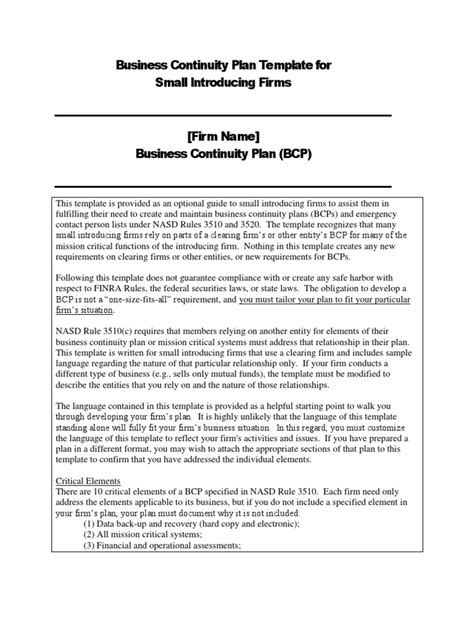 Business Continuity Plan Template Docshare Tips Healthcare Business Continuity Plan Template