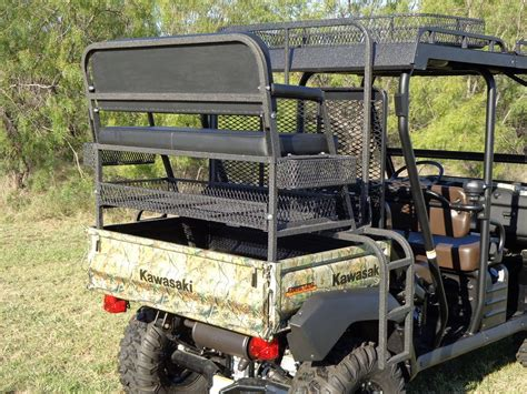 Kawasaki Mule Seat by 4x4 Utv Accessories Kawasaki Mule Rear High Seat
