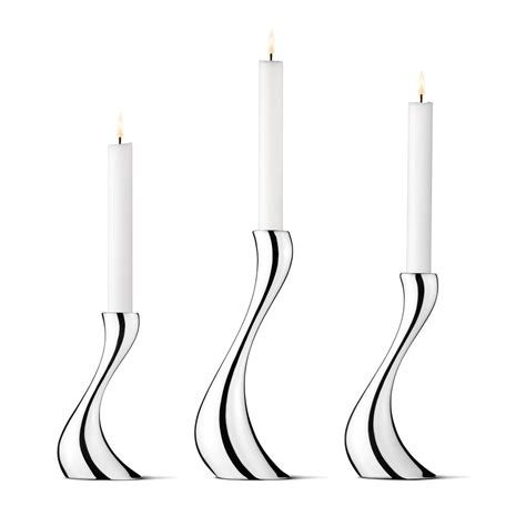 kerzenhalter lange kerzen cobra candle holders 3 pcs set constantin wortmann