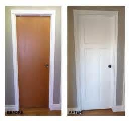Old World Faux Painting - diy flat panel door dress up inspiration doors