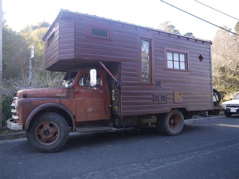 truck house house truck in bolinas the shelter blog