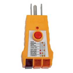 gfci receptacle tester rt200 klein tools for professionals since 1857
