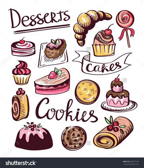 cake clipart cookie clipart cake cookie pencil and in color cookie