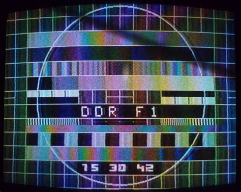test pattern pal television channels and stations disestablished in 1972
