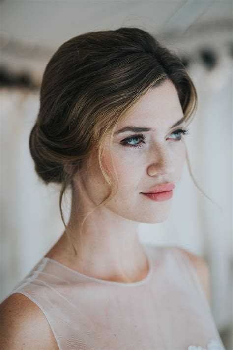 braut lippenstift mac natural bridal make up by nike nitz photo