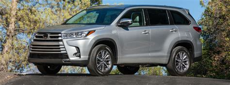 Toyota Highlander Fuel Economy Official 2017 Toyota Highlander Power And Fuel Economy Specs