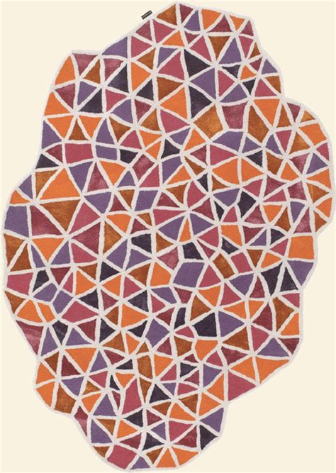 Triangle Shaped Rug by Pin By Modernrugs On Avant Garde
