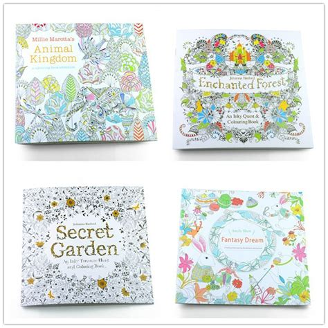 secret garden colouring book wholesale buy wholesale enchanted kingdom from china