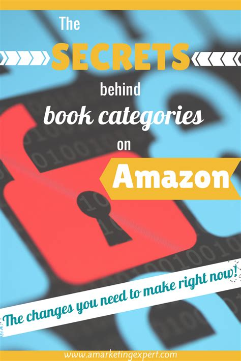 book categories on amazon writers the secrets behind book categories on amazon author