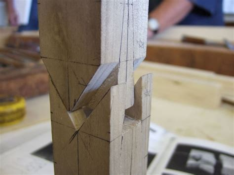 japanese splicing wood joint exhibit  carpinteria