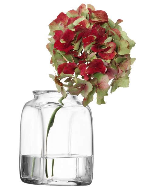lsa small umberto glass vase oliver bonas