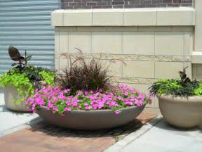 10 photos of the big flower pots and how to plan for the plants to