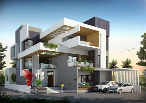 house design ideas 3d residential towers row houses township designs villa
