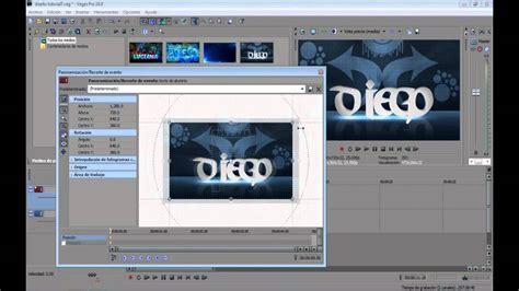 imagenes en movimiento sony vegas tutorial como animar imagenes efecto de video transiciones
