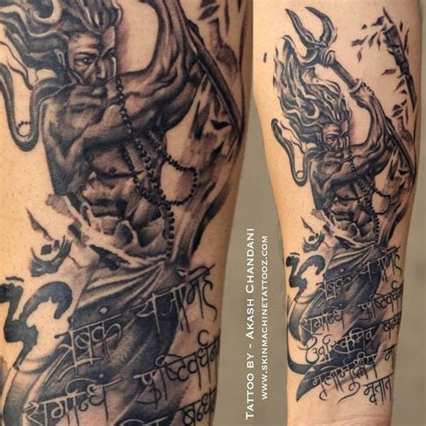 cheyenne tattoo lord shiva by akash chandani the inkmann skin