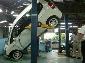 Backyard Buddy Auto Lift by Licence To Speed For Malaysian Automotive Honda Jazz
