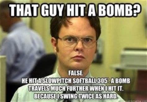 Funny Softball Memes - funny slow pitch softball quotes quotesgram