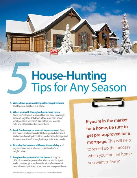 Tips House | 5 house hunting tips for any season cinthia ane real
