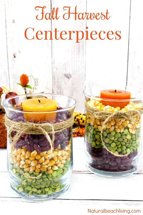 easy fall table centerpieces best 25 fall candle centerpieces ideas on