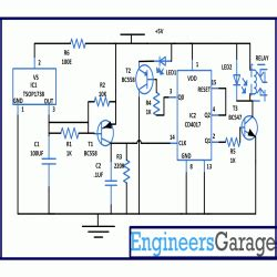 remote controlled car circuit diagram engineersgarage