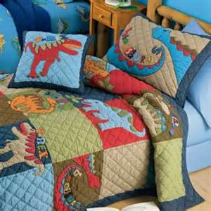 Bedroom Decor With Quilts Dinosaur Quilt Bedding For Bedroom Decor