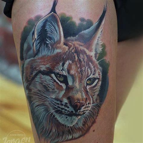 lynx tattoo  shoulder  tattoo ideas gallery