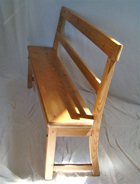 pine settle bench pine settle or bench antiques atlas