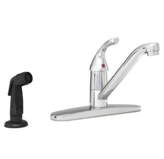 proflo kitchen faucet faucet pfxc3111cp in polished chrome by proflo