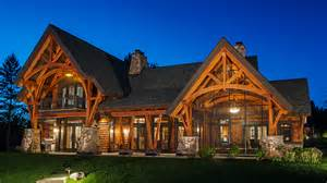 Rambling Ranch House Plans timber frame timber frame home exteriors new energy works