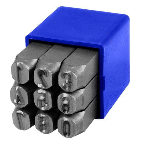 Tekiro Nomor Ketok 3 Mm Number Punch 3 Mm 1 ot10410 10mm number punch set 9 pieces tradetools