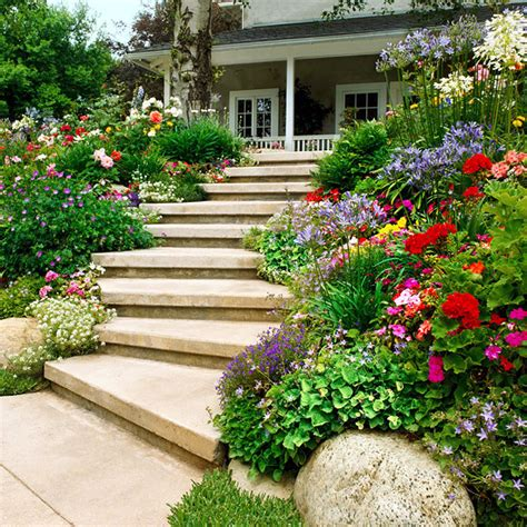 creating a garden on a slope ideas and optimal solutions