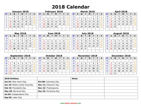 year 2018 calendar download print calendars from free