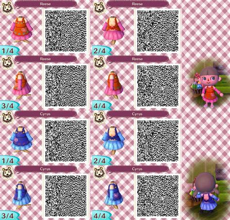 acnl ombre qr animal crossing new leaf reese dress google search